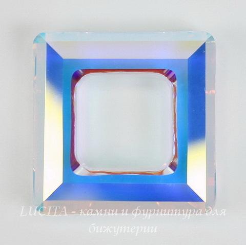 4439 Подвеска Сваровски Square Ring Crystal AB  (20 мм) ()