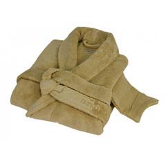 Элитный халат женский Sultan коричневый от Hamam