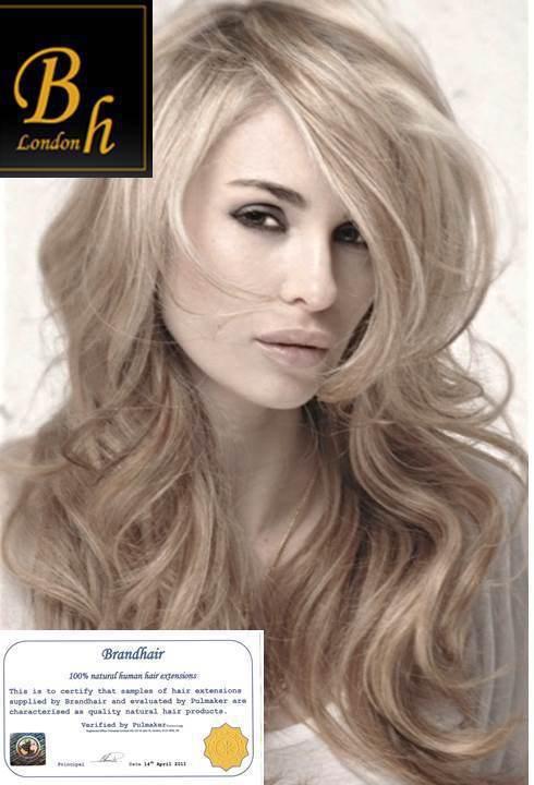 Наборы для ленточного наращивания цвет #16-Темный пепельный блонд -40 штук,длина 52 см.Волос прямой