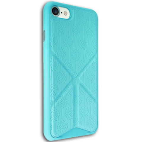 Ozaki O!coat 0.3 + Totem Versatile for iPhone 7 Blue (голубой)
