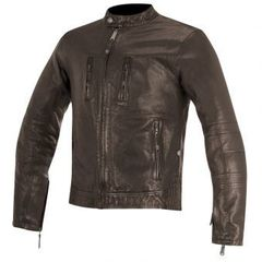 Brass Leather Jacket / Коричневый