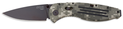 Купить Складной нож SOG Мод. AEGIS DIGI CAMO BLACK 97022 по доступной цене