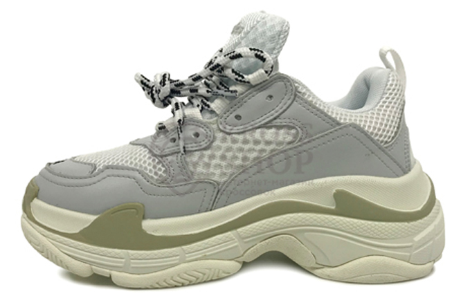 Balenciaga Women's Triple S White