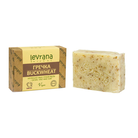 Levrana, Гречка, Натуральное мыло ручной работы, 100гр