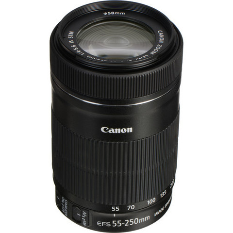 Объектив Canon EF-S 55-250mm f 4-5,6 IS STM