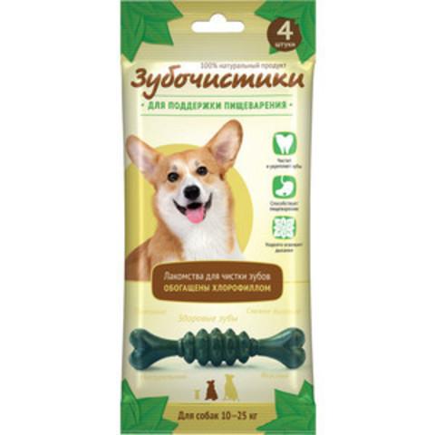 Деревенские лакомства Зубочистки мятные для собак средних пород 70г