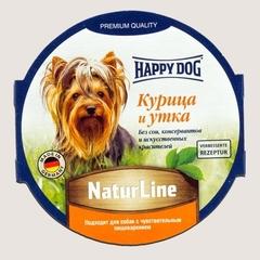 Паштет для собак Happy Dog Курица и утка