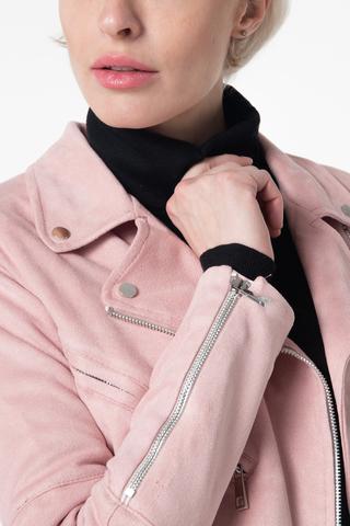 Куртка из эко-замши