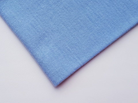Кулирная ткань (100%- х/б) 15х15см, голубой