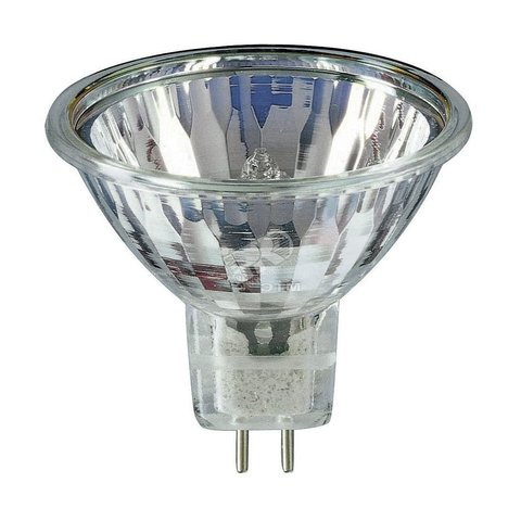 Лампа галоген. MR16 220V 75Вт GU5.3, закр.типа рефлект.JCDR Camelion