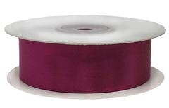 Лента атласная Пурпурный, 12 мм*22,85 м
