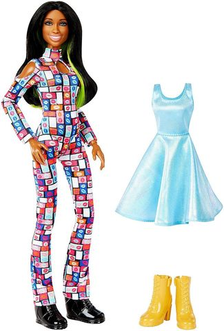 Кукла Наоми (Naomi) с дополнительным нарядом - WWE Superstars, Mattel