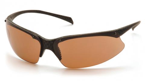 Очки баллистические стрелковые Pyramex PMX5050 SCF6818D коричневые 23%