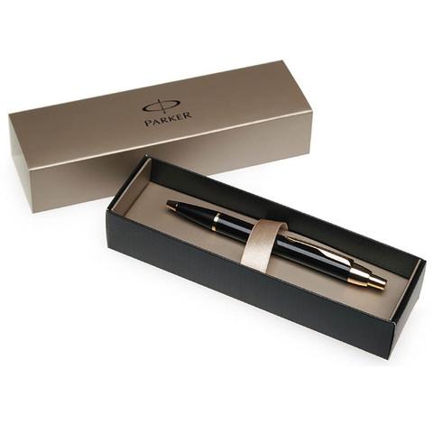Parker IM - Gun Metal СT, перьевая ручка, F, BL