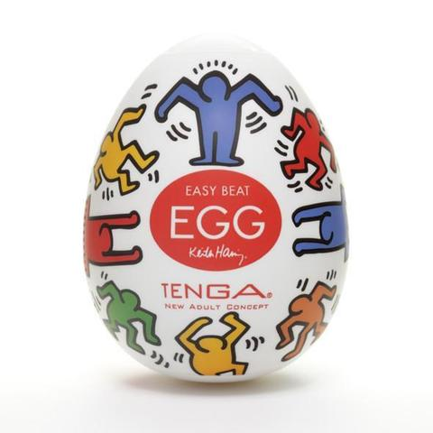 Яйцо мастурбатор TENGA&Keith Haring Egg Dance