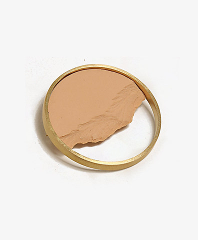 Брошь Circle Dorado Peach