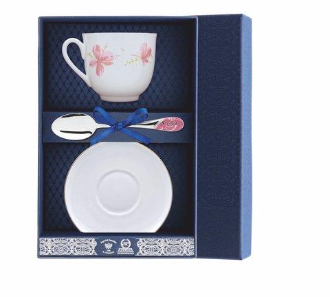 Набор чайный «Ландыш-Розовые цветы» 3пр.