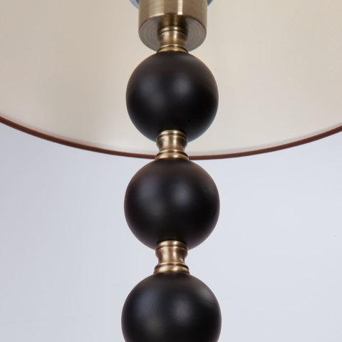 Торшер классический с абажуром 01057/1 черный