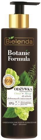 BOTANIC FORMULA Кондиционер для окрашенных  волос ПОЛЕВОЙ ХВОЩ+ХМЕЛЬ, 245 мл