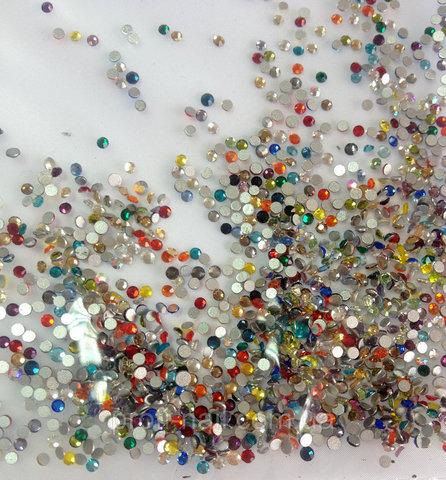 Стразы SS5 микс 20 цветов 1200 шт