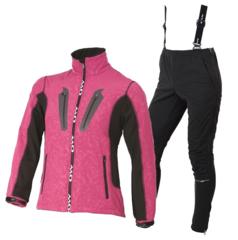 OWE WAY CATA-VIKO женский лыжный костюм розовый