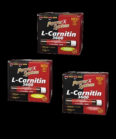L-карнитин 3600 мг (цитрус), АМПУЛЫ Пауэр Систем