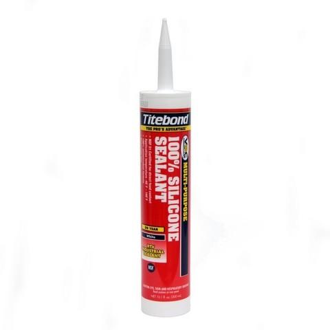 Герметик силикон белый Titebond Silicon Sealant 2601