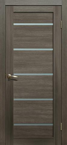 Дверь Fly Doors L-26, стекло матовое, цвет венге 3D, остекленная
