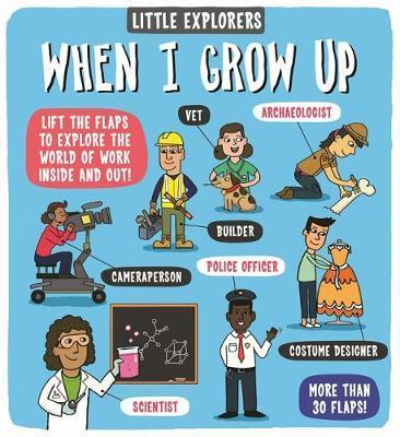 Kitab Little Explorers: When I Grow Up | Dynamo Ltd.