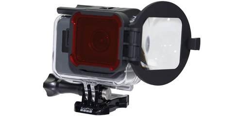 Набор фильтров PolarPro SWITCHBLADE Combo для HERO5 Black пример крепления
