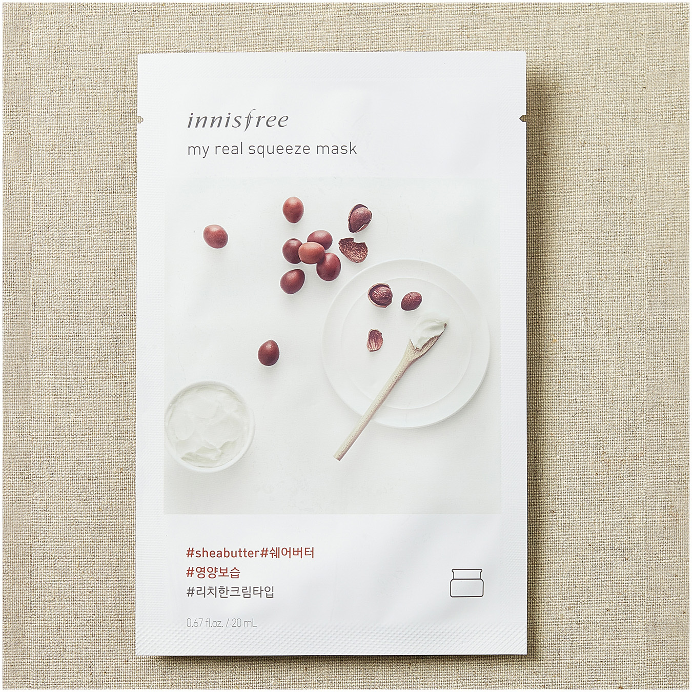 Innisfree My Real Squeeze Mask Shea Butter