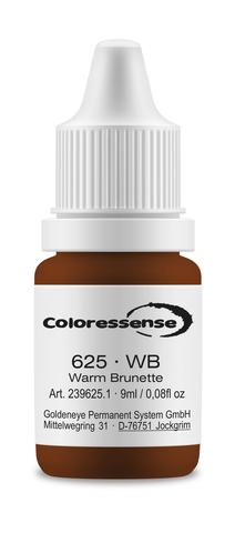 Warm Brunette • 9 мл • Coloressense • пигмент-концентрат для бровей • WB