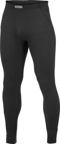 Мужское термобелье рейтузы Craft Warm Wool черное (1903727-9999)