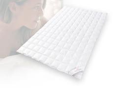 Одеяло пуховое очень лёгкое 200х220 Kauffmann Премиум Тенсел Сильвер Протекшн