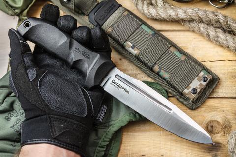 Тактический нож Centurion AUS-8 Satin Камо Ножны