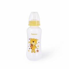 Бутылочка для кормления 300 мл, цвет ЖЕЛТЫЙ (пластик)