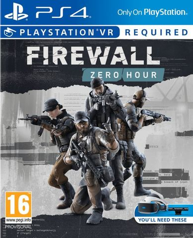 PS4 Firewall Zero Hour (только для VR, русская версия)