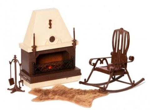 Набор мебели Огонёк для каминной комнаты Коллекция С-1301