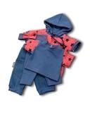Большой  комплект (с платьем-туникой) - Цикламеновый. Одежда для кукол, пупсов и мягких игрушек.
