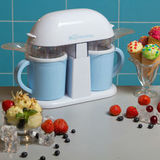 С помощью Мороженицы йогуртницы Двойное удовольствие вы сможете изг...