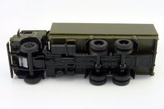 KAMAZ-53212 with awning (grille khaki) khaki Elecon 1:43