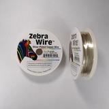 Проволока серебристая с медным сердечником Zebra Wire, 0,64 мм, посеребренная, 13 м