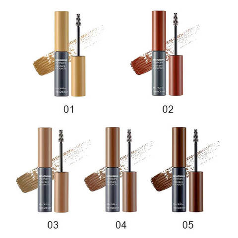 Тушь для бровей The FACE SHOP Designing browcara #05 Dark brown, 6,5 гр