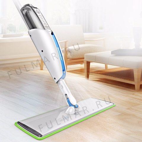 Умная швабра с распылителем для мытья полов BoomJoy Spray Mop Deluxe