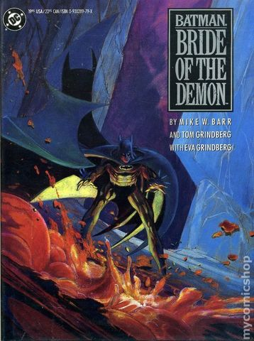 Batman Bride of the Demon TPB