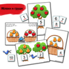"""Яблоки и груши"". Фруктовый сад. Развивающие пособия на липучках Frenchoponcho (Френчопончо)"