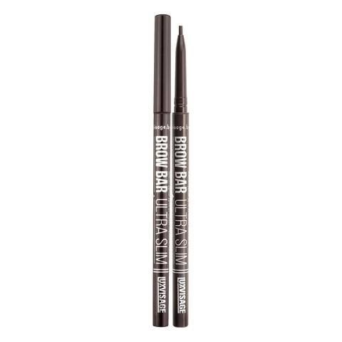 LuxVisage Brow Bar ultra slim Механический карандаш для бровей тон 303 (Smoky)