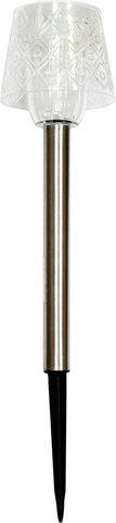 Светильник садово-парковый, 1 LED(белый) , .7.5*34.3см, PL246 (Feron)