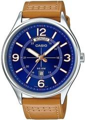 Мужские японские наручные часы Casio MTP-E129L-2B2