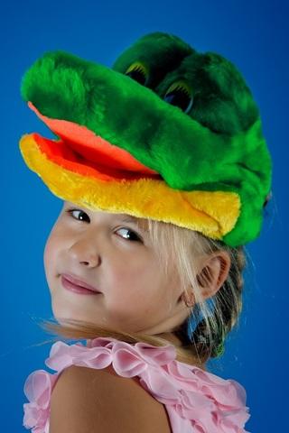 Карнавальная шапочка Крокодил 1